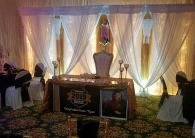 high school graduation party venue rental